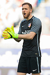 Goalkeeper Jan Oblak of Atletico de Madrid reacts during their La Liga match between Atletico de Madrid and Sevilla FC at the Estadio Vicente Calderon on 19 March 2017 in Madrid, Spain. Photo by Diego Gonzalez Souto / Power Sport Images