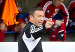 St Johnstone v Bristol City....28.07.12  Pre-Season Friendly.Derek McInnes back at McDiarmid Park.Picture by Graeme Hart..Copyright Perthshire Picture Agency.Tel: 01738 623350  Mobile: 07990 594431