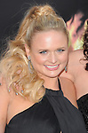 Miranda Lambert of the Pistol Annies attends the Lionsgate World Premiere of The hunger Games held at The Nokia Theater Live in Los Angeles, California on March 12,2012                                                                               © 2012 DVS / Hollywood Press Agency