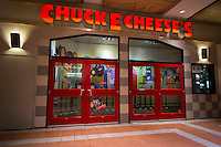 A Chuck E. Cheese's restaurant located in Brooklyn in New York on Friday, January 17, 2014. Apollo Global Management is acquiring CEC Entertainment, the parent of the 577 casual dining restaurants for $1.3 billion. The restaurant chain appeals to children with entertainment, games, rides in addition to their food. (© Richard B. Levine)