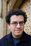 Hisham Matar at Christ Church during the Sunday Times Oxford Literary Festival, UK, 2-10 April 2011.<br />