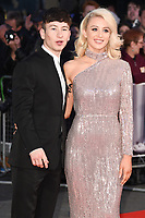 Barry Keoghan &amp; girlfriend Shona Guerin at the London Film Festival 2017 screening of &quot;The Killing of a Sacred Deer&quot; at Odeon Leicester Square, London, UK. <br /> 12 October  2017<br /> Picture: Steve Vas/Featureflash/SilverHub 0208 004 5359 sales@silverhubmedia.com