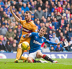 Joe Chalmers stops Andy Halliday getting on the scoresheet