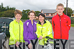 CYCLE: Taking part in the Kingdom Care Charity Shop Cycle at Tralee Mart on Saturday l-r: Rosarie Clifford, Mary Flynn, Ailish Tobin and Aaron Clifford, Killorglin.