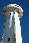 OLD LIGHTHOUSE AT SALT MINE IN GURERRO NEGRO