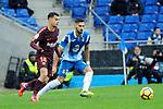 League Santander 2017-2018 - Game: 22.<br /> RCD Espanyol vs FC Barcelona: 1-1.<br /> Philippe Coutinho vs Marc Navarro.