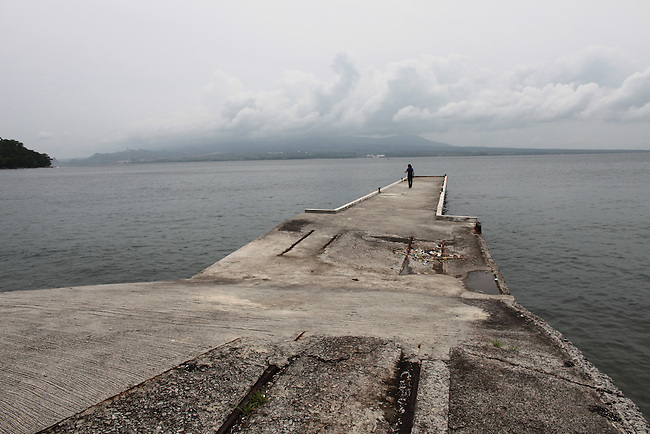 The pier at Corregidor from which Gen. Douglas MacArthur, his family and members of his staff were evacuated by PT boat in March 1942 after President Franklin D. Roosevelt ordered MacArthur to leave the Philippines for Australia. June 26, 2011.