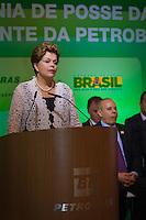 RIO DE JANEIRO, RJ, 13 DE FEVEREIRO DE 2012 - Cerimônia de Posse da nova Presidente da Petrobrás  - A Presidente Dilma Roussef discursa na cerimônia de tomada de posse da nova Presidente da Petrobras, Graça Foster, na sede da Petrobras.<br /> FOTO GLAICON EMRICH - NEWS FREE.