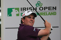 Shane Lowry (IRL) in action on the 16th hole during Day 1 Thursday of The Irish Open presented by Discover Ireland at Killarney Golf & Fishing Club on  28th July 2011 (Photo Fran Caffrey/www.golffile.ie)