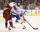 Colin White (BC - 18), Chris Forney (UML - 4) The University of Massachusetts-Lowell River Hawks defeated the Boston College Eagles 4-3 to win the 2017 Hockey East tournament at TD Garden on Saturday, March 18, 2017, in Boston, Massachusetts.