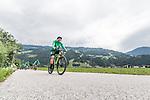 09.07.2019, Zell am Ziller, AUT, TL Werder Bremen Zell am Ziller / Zillertal Tag 05<br /> <br /> im Bild<br /> Kevin Möhwald / Moehwald (Werder Bremen #06), <br /> auf Mountainbike bei Radtour im Zillertal <br /> <br /> Foto © nordphoto / Ewert