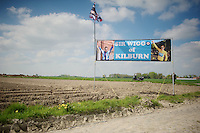 Sir Wiggo Support<br /> <br /> 2014 Paris - Roubaix reconnaissance