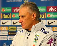 Trainer Tite (Brasilien Brasilia) - 26.03.2018: Abschlusstraining der Deutschen Nationalmannschaft, Olympiastadion Berlin