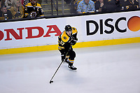 May 2, 2018: Boston Bruins center Tommy Wingels (57) in game action during game three of the second round of the National Hockey League's Eastern Conference Stanley Cup playoffs between the Tampa Bay Lightning and the Boston Bruins held at TD Garden, in Boston, Mass. Tampa Bay defeats Boston 4-1. Eric Canha/CSM