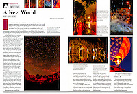 """My new travel photography column """"On the Road"""" in the September 2013 issue of Shutterbug Magazine. The magazine is bi-monthly and the column will appear in every issue."""