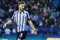 Morgan Fox of Sheffield Wednesday in action during the Sky Bet Championship match between Sheffield Wednesday and Swansea City at Hillsborough Stadium, Sheffield, England, UK. Saturday 09 November 2019