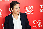 Lindsay Lohan boyfriend Egor Tarabasov attend to the 20th anniversary of UNOde50 at Palacio de Saldaña in Madrid. June 09. 2016. (ALTERPHOTOS/Borja B.Hojas)
