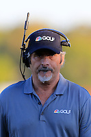 David Feherty Golf Channel at the 18th green during Saturday Afternoon Fourball Matches of the 41st Ryder Cup, held at Hazeltine National Golf Club, Chaska, Minnesota, USA. 1st October 2016.<br /> Picture: Eoin Clarke | Golffile<br /> <br /> <br /> All photos usage must carry mandatory copyright credit (&copy; Golffile | Eoin Clarke)
