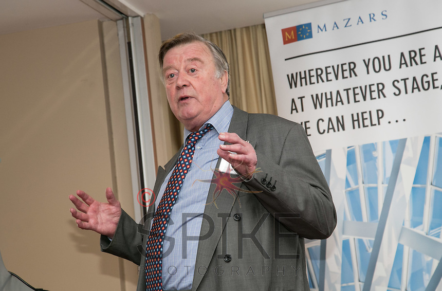 Keynote speaker Ken Clarke MP talks about Nottingham and the economy