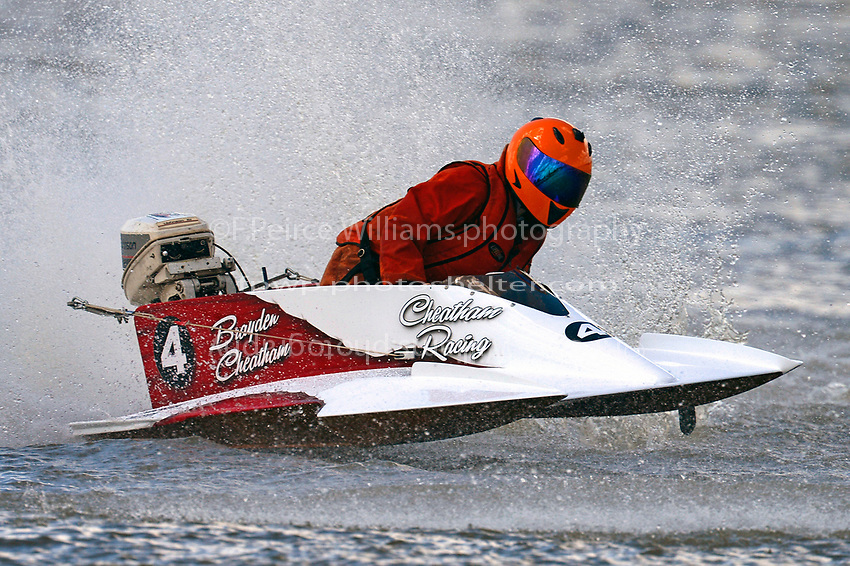 #4(J-Stock, Outboard Hydroplane)