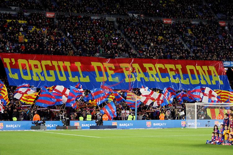 League Santander 2016/2017. Game: 16.<br /> FC Barcelona vs RCD Espanyol: 4-1.