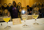 Amador Vintner's Behind the Cellar Door event at the wineries of Amador County..Aroma and bouquet testing (sniff or smell testing)..Jeff Runquist Wines
