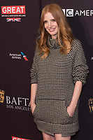 Jessica Chastain attends the BAFTA Los Angeles Awards Season Tea Party at Hotel Four Seasons in Beverly Hills, California, USA, on 06 January 2018. Photo: Hubert Boesl - NO WIRE SERVICE - Photo: Hubert Boesl/dpa /MediaPunch ***FOR USA ONLY***