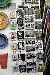 Display rack of postcards of flamenco and local scenes Cordoba, Spain