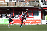 during the Sky Bet League 2 match between Accrington Stanley and Grimsby Town at the Fraser Eagle Stadium, Accrington, England on 25 March 2017. Photo by Tony  KIPAX / PRiME Media Images.