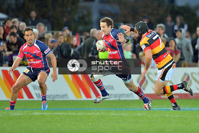 Tasman Makos v Waikato, ITM Cup, 5th September 2014, Trafalgar Park, Nelson, Photo: Barry Whitnall / shuttersport.co.nz