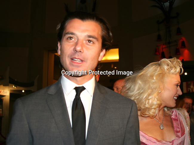 Gavin Rossdale &amp; Gwen Stefani<br />