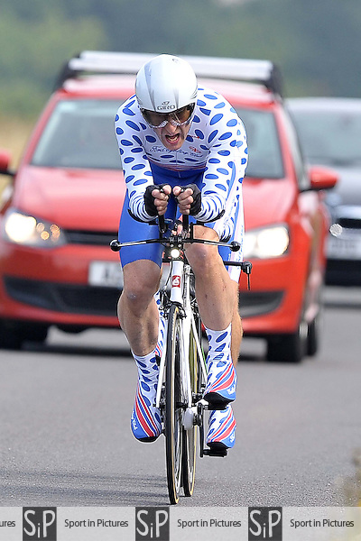 Victoria cycling club (VCC) time trial 2. Ugley. Essex. 30/07/2016. MANDATORY Credit Garry Bowden/Sportinpictures - NO UNAUTHORISED USE - 07837 394578