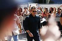 VENICE, ITALY - AUGUST 30: Matt Damon arrives at Darsena Excelsior during 74th Venice Film Festival at Excelsior on August 30, 2017 in Venice, Italy. (Mark Cape/insidefoto)