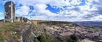 France, Ardèche (07), Mirabel, le village et la tour // France, Ardeche, Mirabel