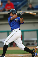May 14 2009: Julio Perez of the Rancho Cucamonga Quakes before game against the High Desert Mavericks at The Epicenter in Rancho Cucamonga,CA.  Photo by Larry Goren/Four Seam Images