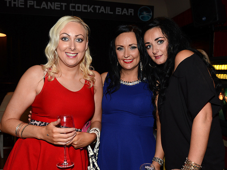Karen Reay, Sharon Connor and Wendy McArdle pictured at the Stephanie Smith benefit night in The Star Bar. Photo:Colin Bell/pressphotos.ie