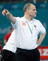 Algeria's coach Salah Bouchekriou during 23rd Men's Handball World Championship preliminary round match.January 15,2013. (ALTERPHOTOS/Acero) /NortePhoto