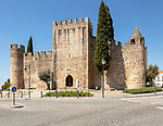 Historic castle in Alter do Chão, Alentejo, Portugal, southern Europe built in the 14th century