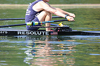 Race: 41  MasH.1x  Quarter-Final<br /> 203  Upper Thames Rowing Club (Gullett)<br /> 206  Wallingford Rowing Club (Edgar)<br /> <br /> Henley Masters Regatta 2018 - Friday<br /> <br /> To purchase this photo, or to see pricing information for Prints and Downloads, click the blue 'Add to Cart' button at the top-right of the page.
