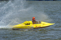 E-11, 280 class hydroplane..2004 Madison Regatta, Madison, Indiana, July 4, 2004..F. Peirce Williams .photography.P.O.Box 455 Eaton, OH 45320.p: 317.358.7326  e: fpwp@mac.com.