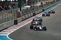 1st December 2019; Yas Marina Circuit, Abu Dhabi, United Arab Emirates; Formula 1 Abu Dhabi Grand Prix, race day; Alfa Romeo Racing, Antonio Giovinazzi - Editorial Use