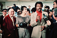 Rocky (1976) <br /> Sylvester Stallone, Carl Weathers &amp; Burgess Meredith<br /> *Filmstill - Editorial Use Only*<br /> CAP/KFS<br /> Image supplied by Capital Pictures