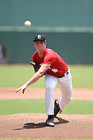 Pitcher Jason Groome of Barnegat High School in Barnegat, New Jersey during the Perfect Game National Showcase on June 20, 2015 at jetBlue Park at Fenway South in Fort Myers, Florida.  (Mike Janes/Four Seam Images)  ***PHOTO RESTRICTIONS - trading cards out***