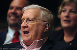 George Steinbrenner sang along with the crowd at the Tampa Bay Performing Arts Center. The event was the 19th Annual Children's Holiday Concert presented by the Steinbrenner Family Foundation and the New York Yankees.