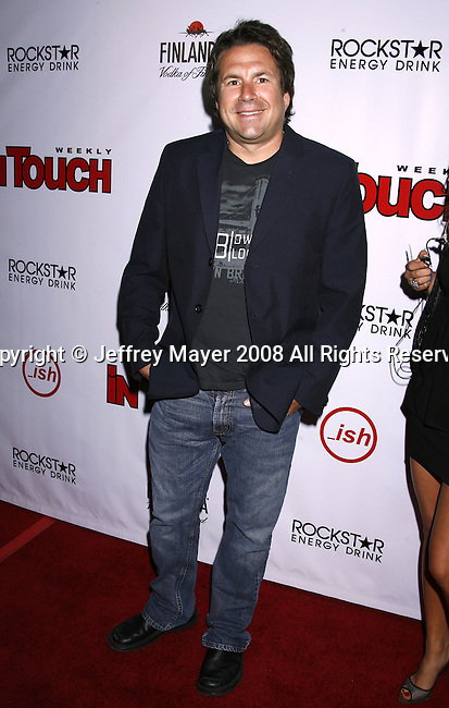 John Melendez arrives at the In Touch Weekly and Ish Entertainment To Host Summer Stars Party 2008 on May 22, 2008 at Social Hollywood in Hollywood, California.