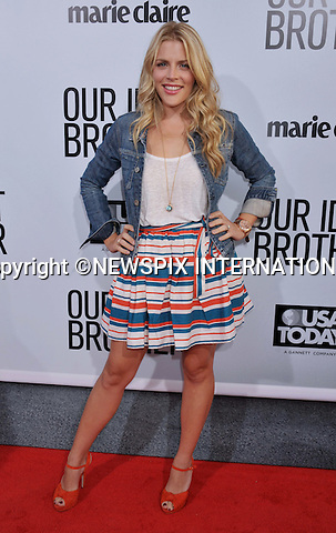 """BUSY PHILIPPS.attend the Premiere of """"Our Idiot Brother"""" at Arclight Hollywood Theatre, Los Angeles_16/08/2011.Mandatory Photo Credit: ©Crosby/Newspix International. .**ALL FEES PAYABLE TO: """"NEWSPIX INTERNATIONAL""""**..PHOTO CREDIT MANDATORY!!: NEWSPIX INTERNATIONAL(Failure to credit will incur a surcharge of 100% of reproduction fees).IMMEDIATE CONFIRMATION OF USAGE REQUIRED:.Newspix International, 31 Chinnery Hill, Bishop's Stortford, ENGLAND CM23 3PS.Tel:+441279 324672  ; Fax: +441279656877.Mobile:  0777568 1153.e-mail: info@newspixinternational.co.uk"""