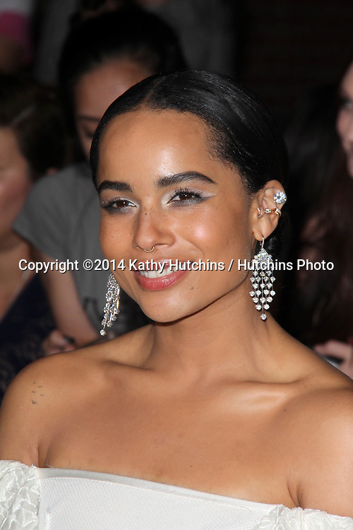 """LOS ANGELES - MAR 18:  Zoe Kravitz at the """"Divergent"""" Los Angeles Premiere at Bruin Theater on March 18, 2014 in Westwood, CA"""