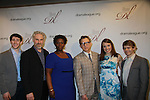 Newsies cast - Ben Fankhauser, John Dossett, Capathia Jenkins, Thomas Schumacher, Kara Lindsay, Andrew Keenan-Bolger- The 78th Annual Drama League Awards on May 18, 2012 at The New York Marriott Marquis, New York City, New York.(Photo by Sue Coflin/Max Photos) Cast of Newsies