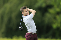 James Monaghan (Royal Dublin) during the first round at the Mullingar Scratch Trophy, the last event in the Bridgestone order of merit Mullingar Golf Club, Mullingar, West Meath, Ireland. 10/08/2019.<br /> Picture Fran Caffrey / Golffile.ie<br /> <br /> All photo usage must carry mandatory copyright credit (© Golffile | Fran Caffrey)
