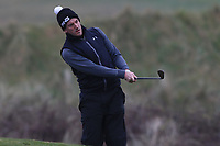 Richard Knightly (Royal Dublin) on the 3rd during Round 3 of The West of Ireland Open Championship in Co. Sligo Golf Club, Rosses Point, Sligo on Saturday 6th April 2019.<br /> Picture:  Thos Caffrey / www.golffile.ie
